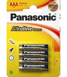 PILAS PANASONIC ALKALINE AAA