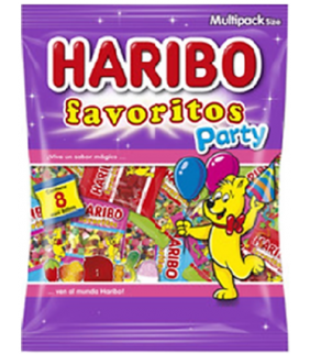 FAVORITOS PARTY HARIBO 240Grs.