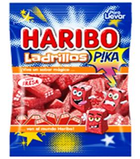 LADRILLOS PIKA FRESA HARIBO...
