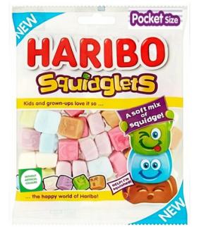 SQUIDGIES HARIBO 80Grs.