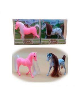 PIEBALD HORSE (CABALLO)