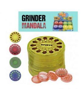 GRINDER MANDALA RASTA 5 PARTES