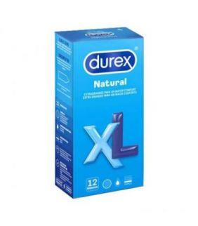 DUREX NATURAL XL 12UD