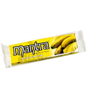 PAPEL MANTRA SABOR BANANA...