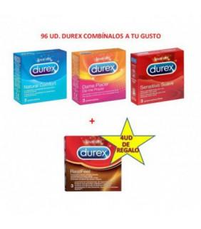 48 DUREX SENSITIVO + 2 DUREX CONTACTO DE REGALO